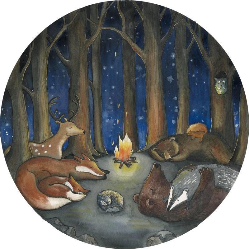 Tieren im Wald-1