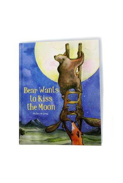 Bear wants to kiss the Moon (EN)