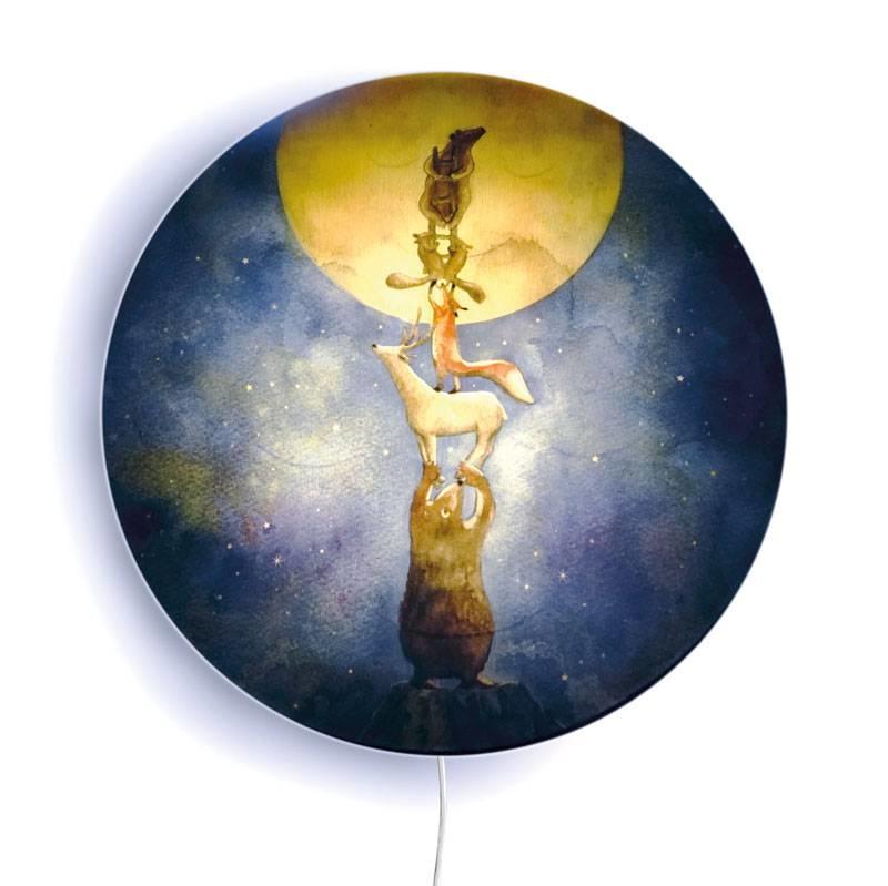 Mondkuss Wandlampe-2