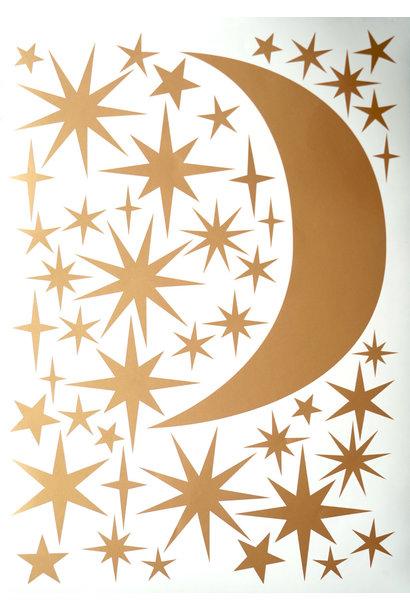 Sternen und Mond Gold