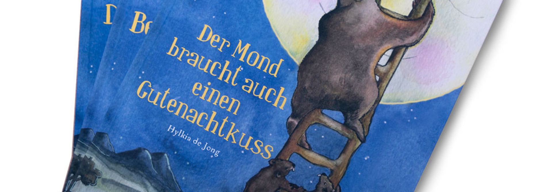 """""""Der Mond braucht auch einen Gutenachtkuss"""""""