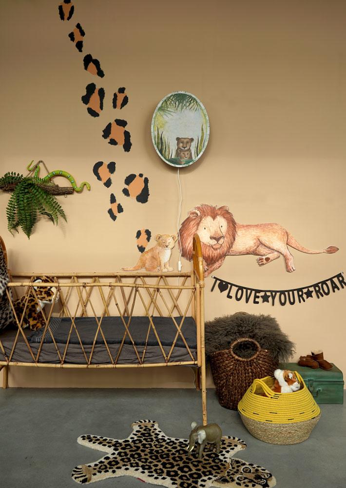 Zwei Löwen Aufkleber-3