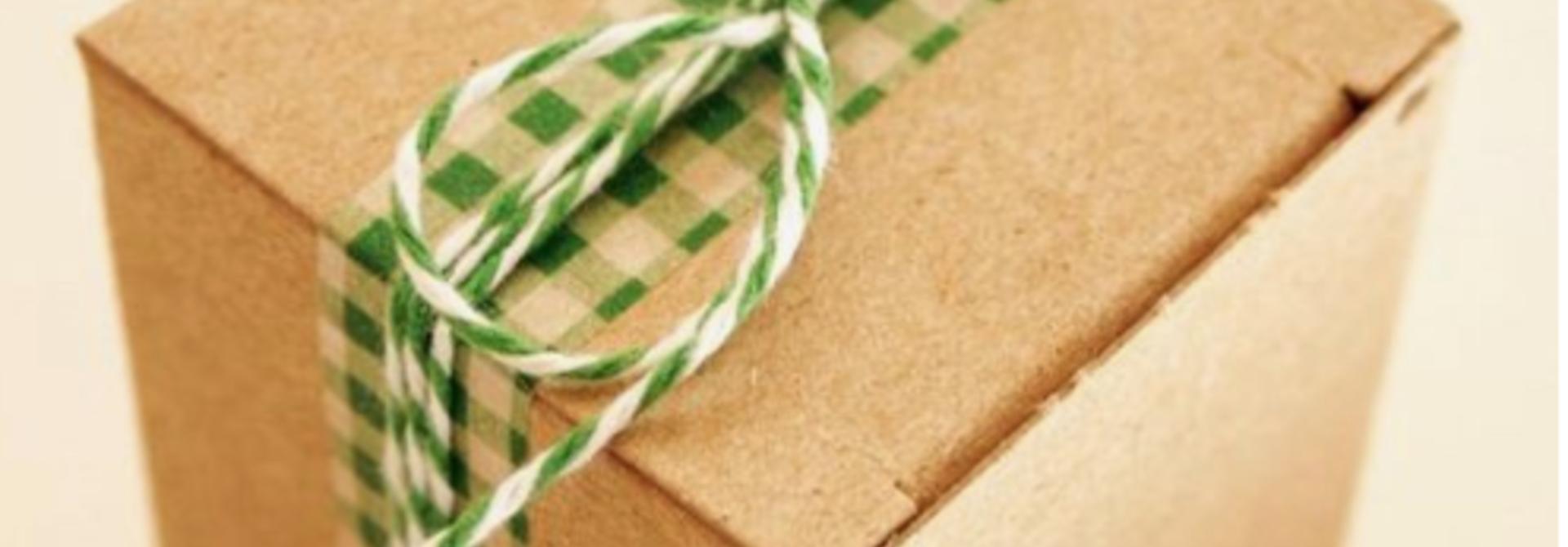 Festliche Geschenkverpackung