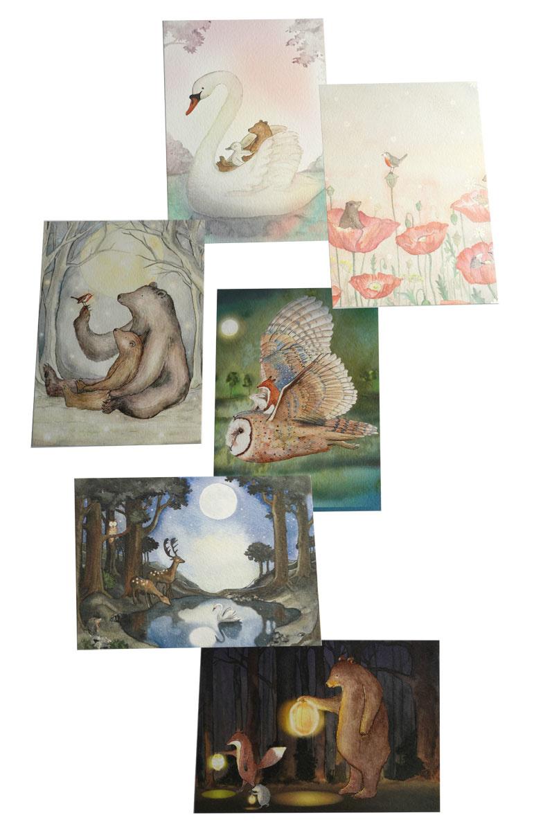 Postkarten Set-2
