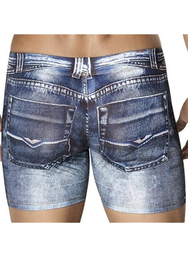 Clever Indigo jeans boxershort