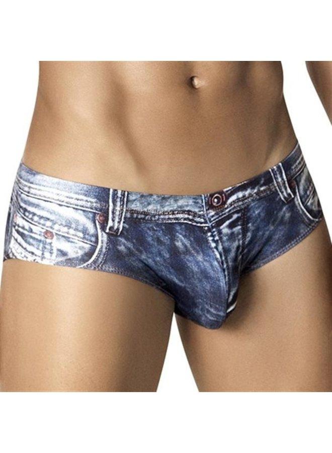 Clever Indigo jeans latin brief