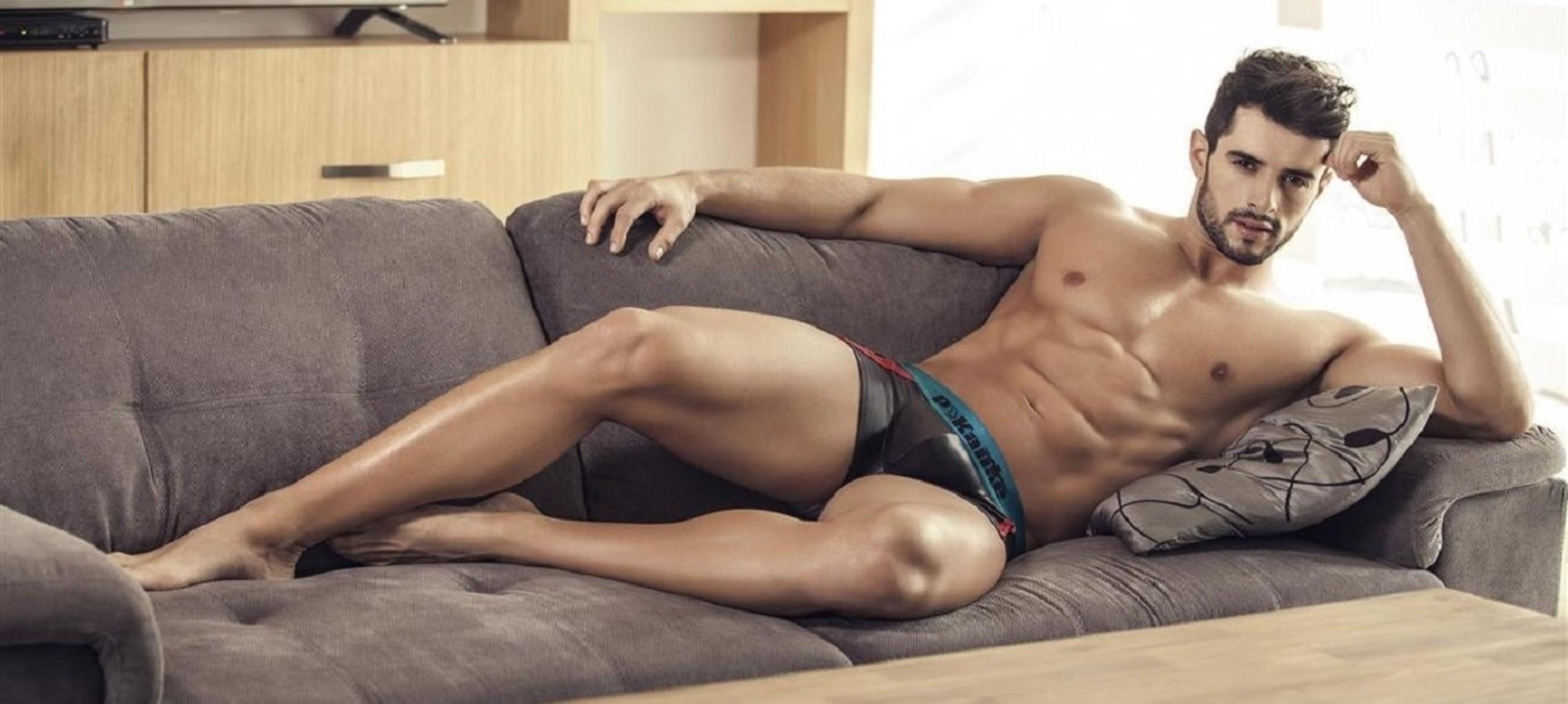 Latex Look Men's Underwear
