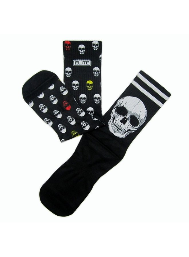 Elite Skull print urban socks