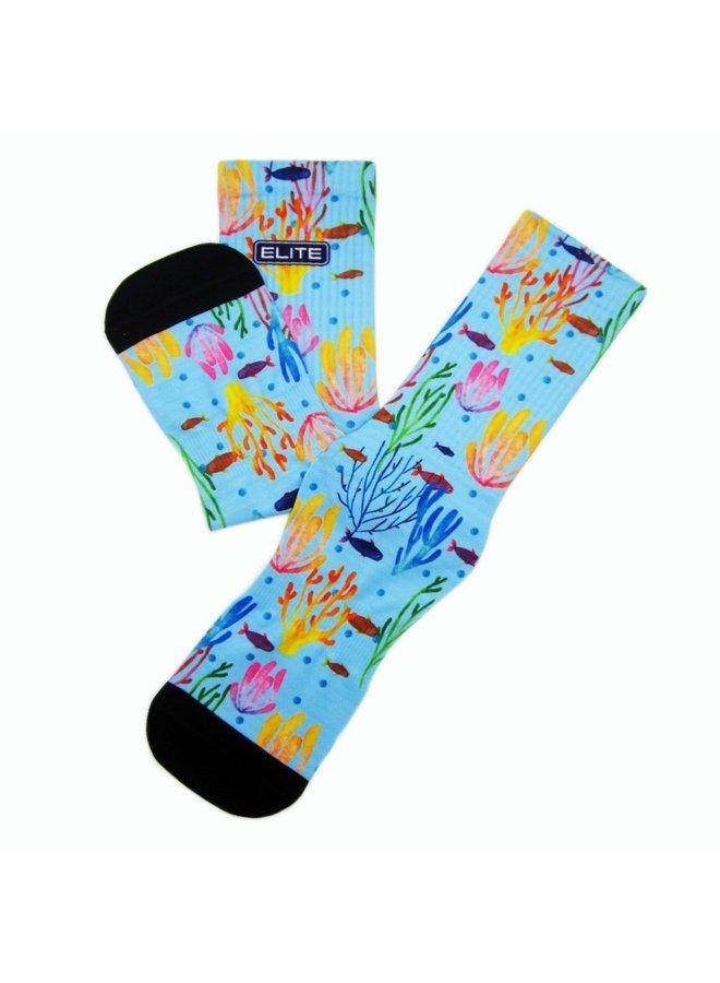 Elite Sea print urban socks
