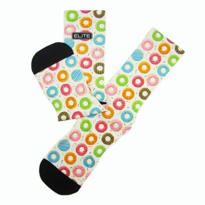 Elite Donut print urban socks