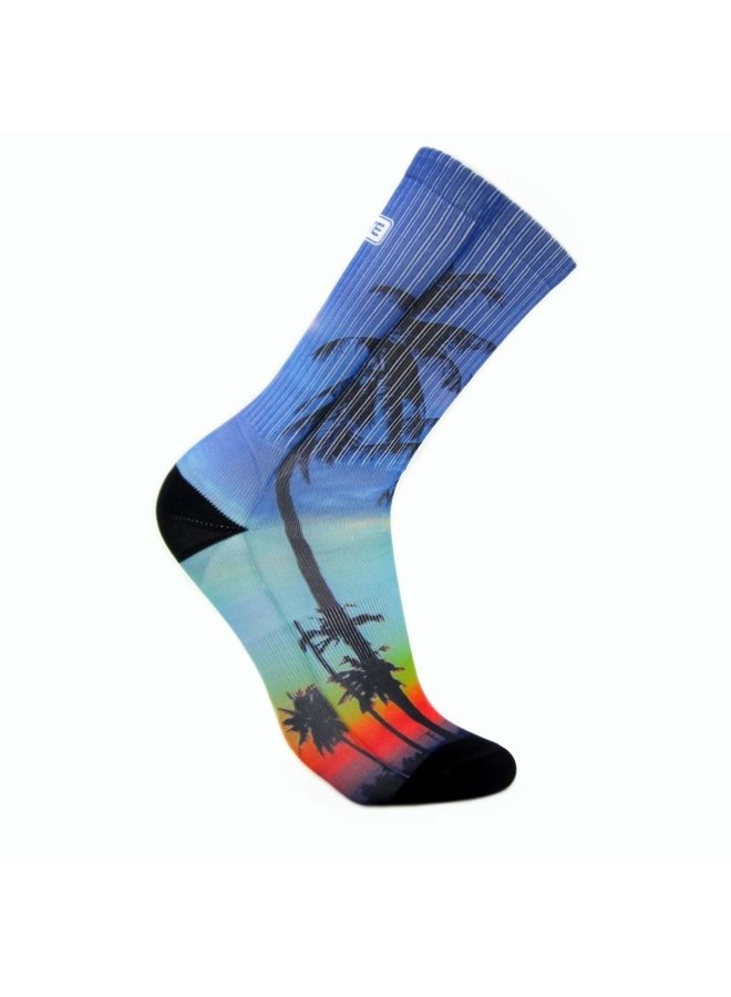 Elite Tropical print urban socks