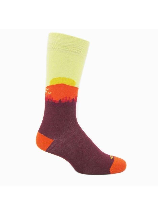 Elite Rising sun fashion socks