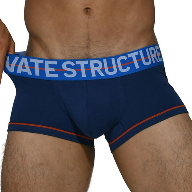 Private Structure Mo Lite dark blue boxershort