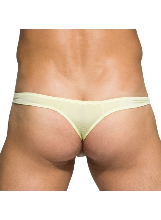 Private Structure Desire glaze lime thong