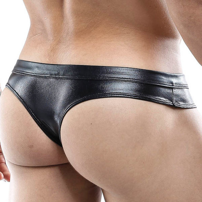 Sexyboy Latex Look thong