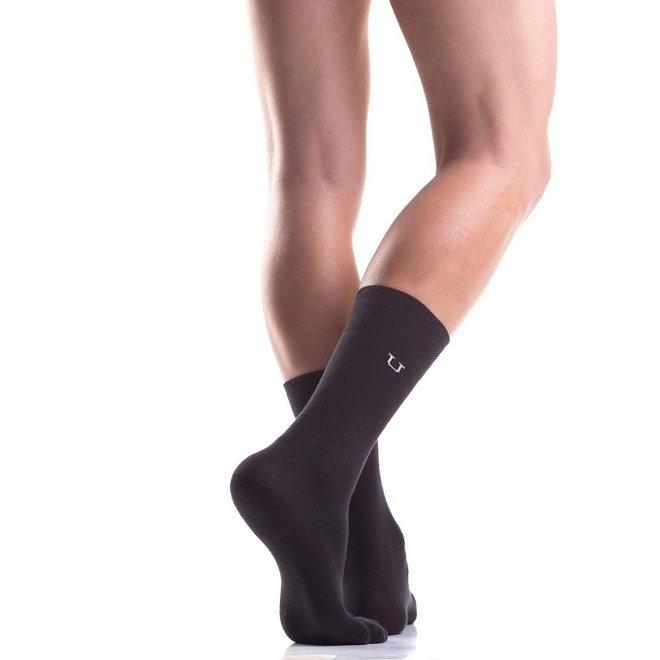 Mundo Unico Casual Negro socks