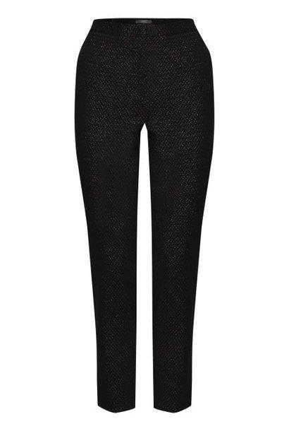 Pantalon zwart met glitter