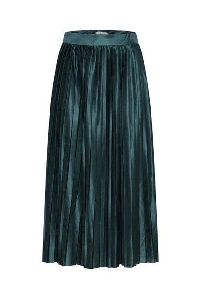 Plisse rok ihpleat turquoise