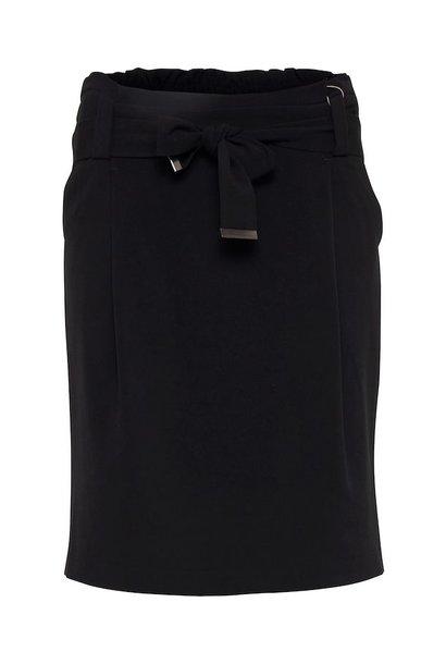 Zwarte rok met riem