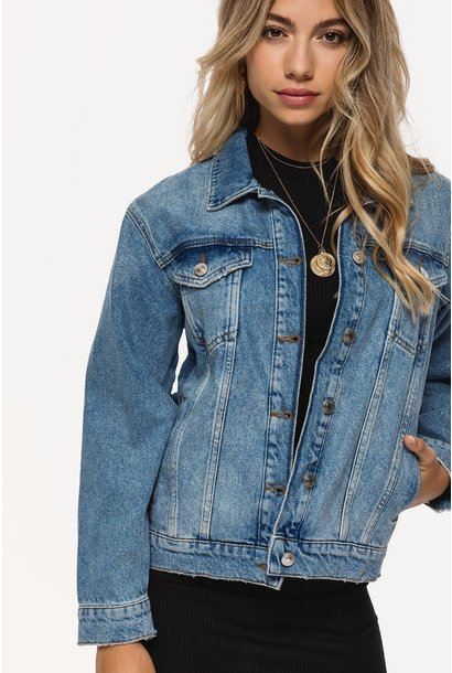Denim jacket about you know