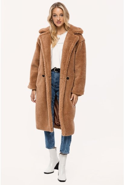 Furry love teddy coat