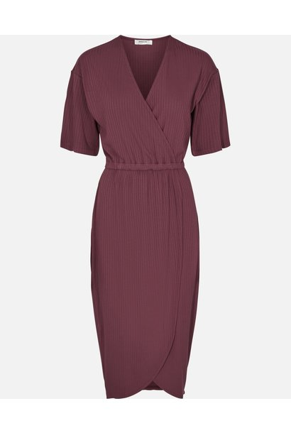 Myla kimmie dress aubergine