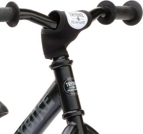 Driewieler 2 in 1 steel all black-3