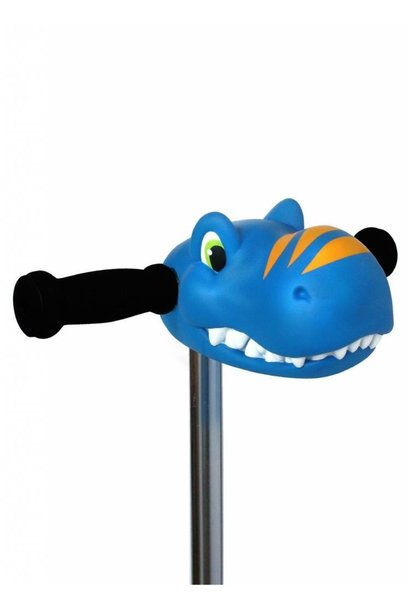 Scootaheadz, dino blauw