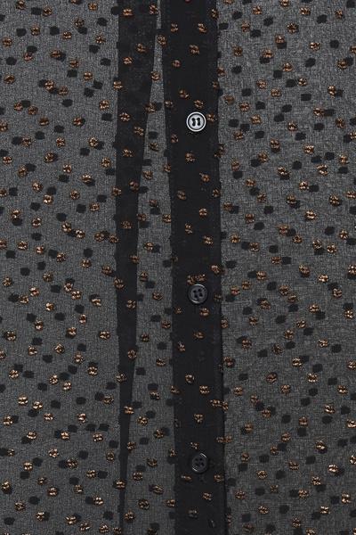 Blouse zwart met glitter-2