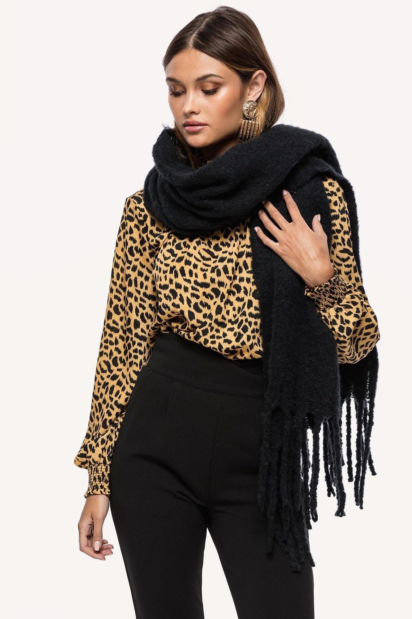 Sjaal zwart-2