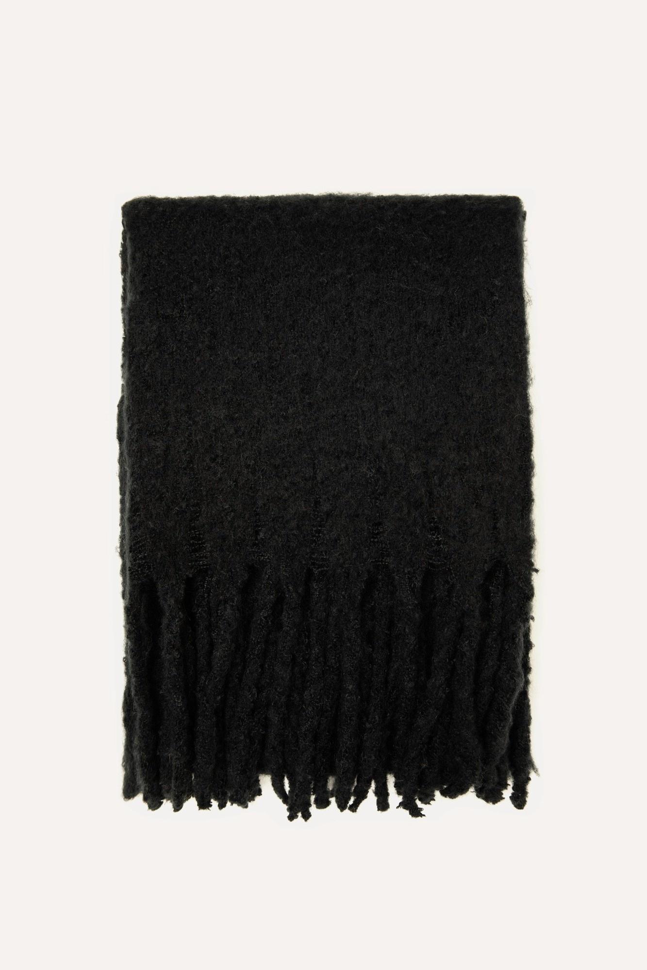 Sjaal zwart-1