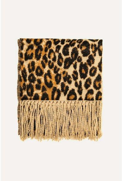 Sjaal leopard