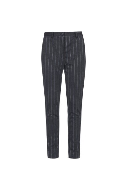 Pantalon grijs gestreept