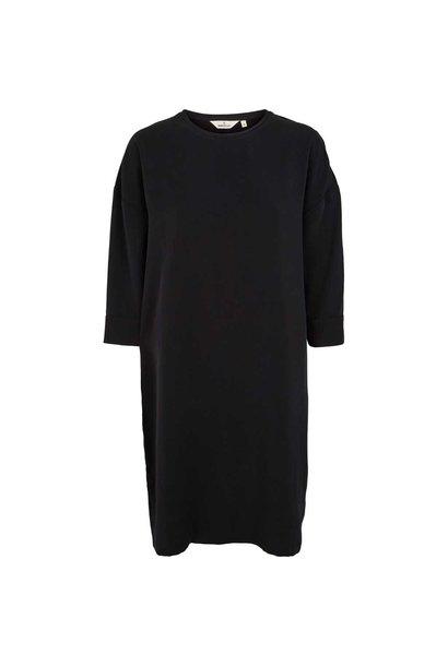 zwarte basic jurk