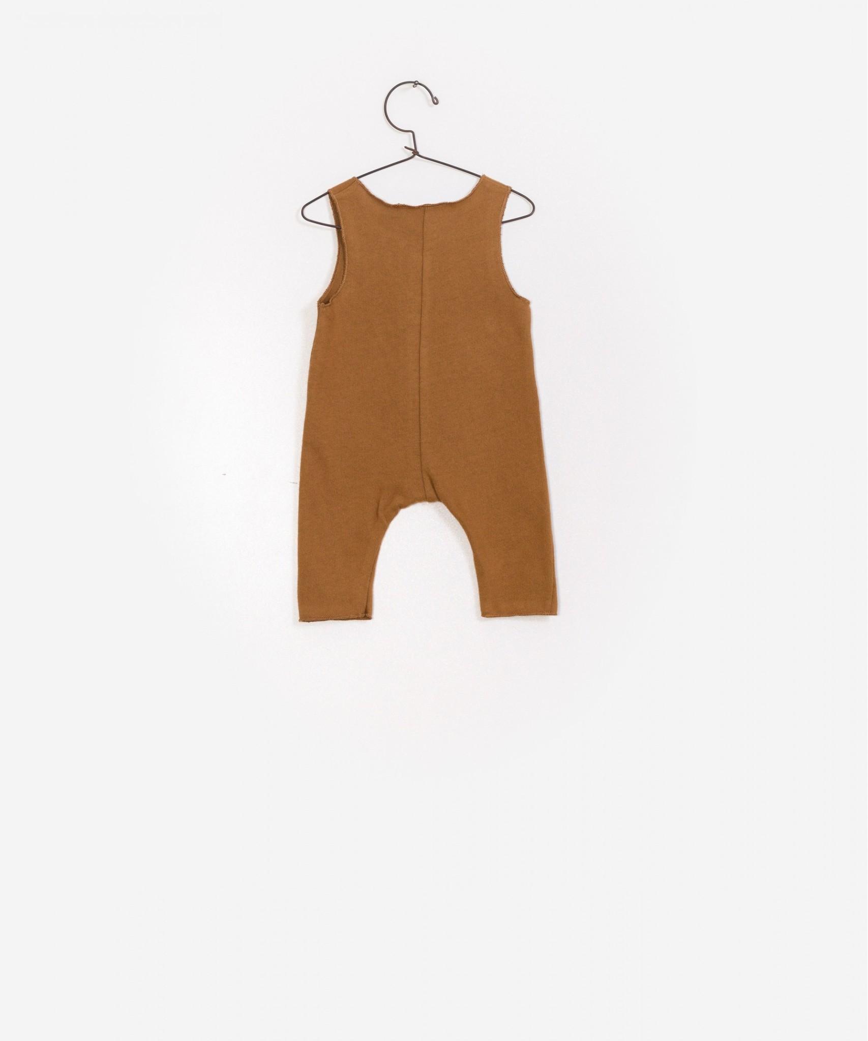 Jumpsuit caramel-3