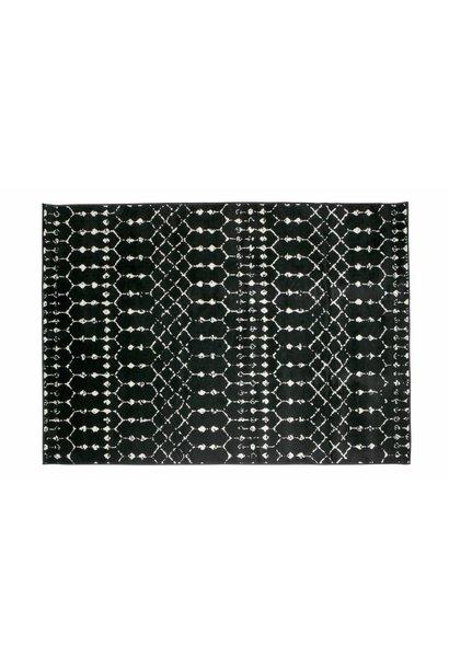 vloerkleed sabrina zwart