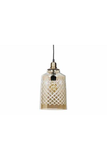 Hanglamp antique brass set v. 2