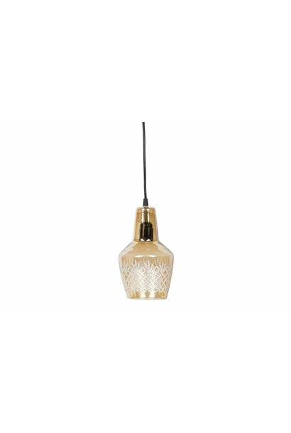 Hanglamp sydney antique brass