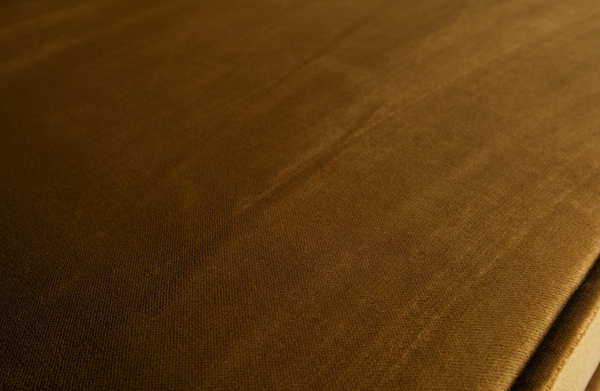 Velvet 2,5-zits bank honing geel-5