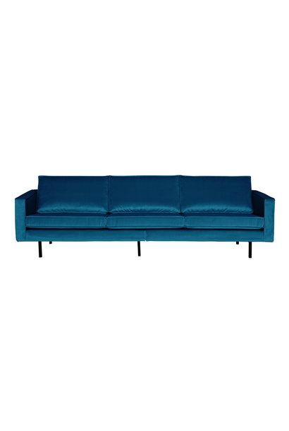 3-Zits bank velvet blue