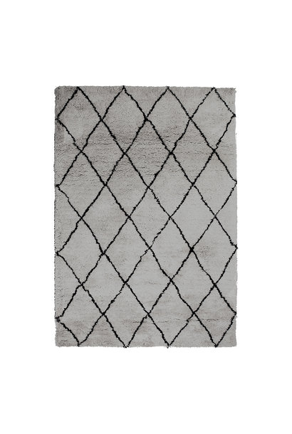 Vloerkleed olaf grey 200x300
