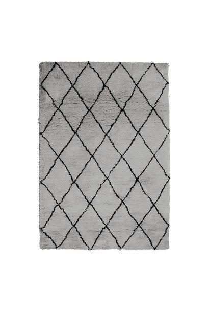 Vloerkleed olaf grey 160x230 cm