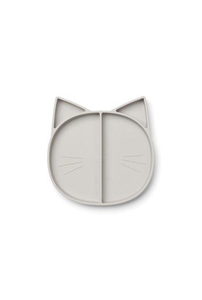 Silicone bord grijs