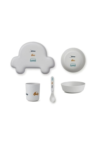 Servies set auto