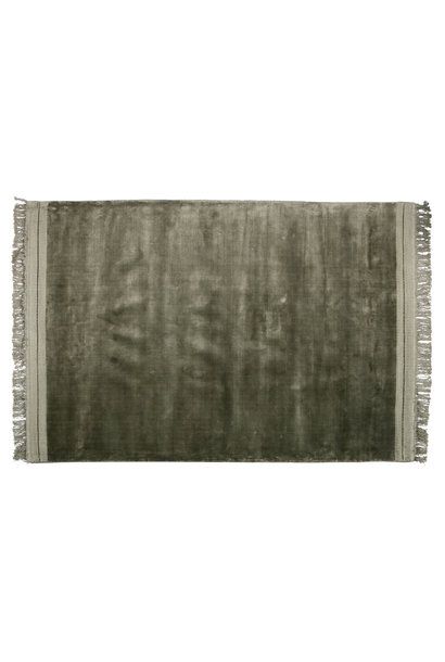 vloerkleed warm groen 170x240 cm