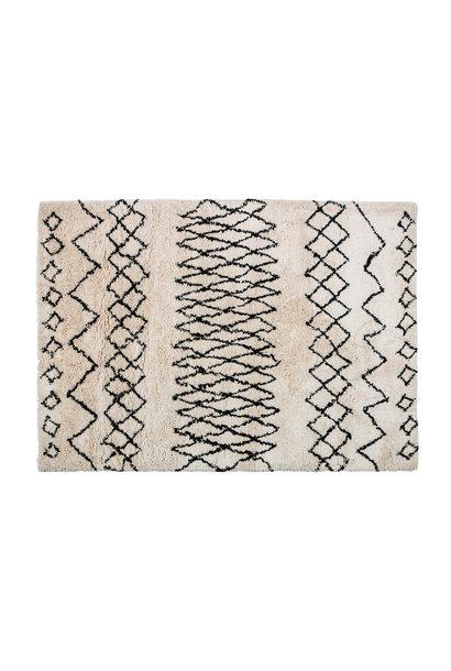 Vloerkleed off white 160x230 cm