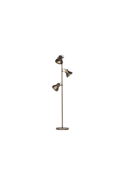 Staande lamp antique brass