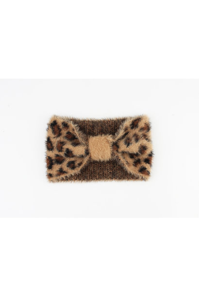 Headband leopard