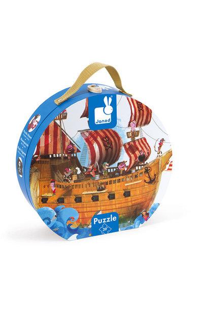 Puzzel piratenschip