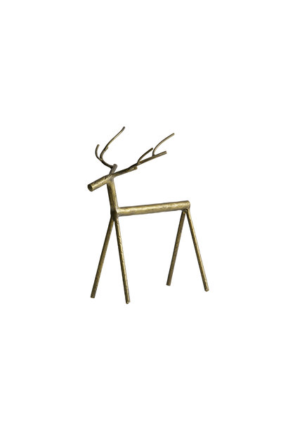 rudolph metal deer XL